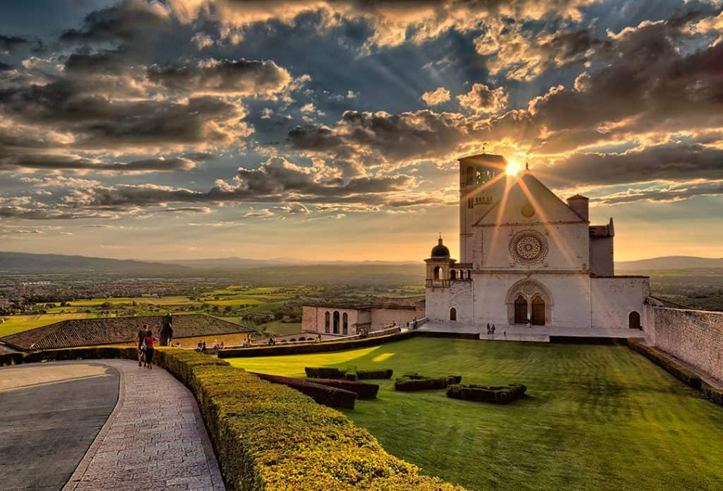 Basilica of St.Francis in Assisi