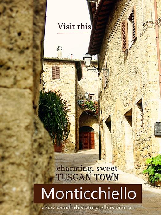 Monticchiello Tuscany Italy