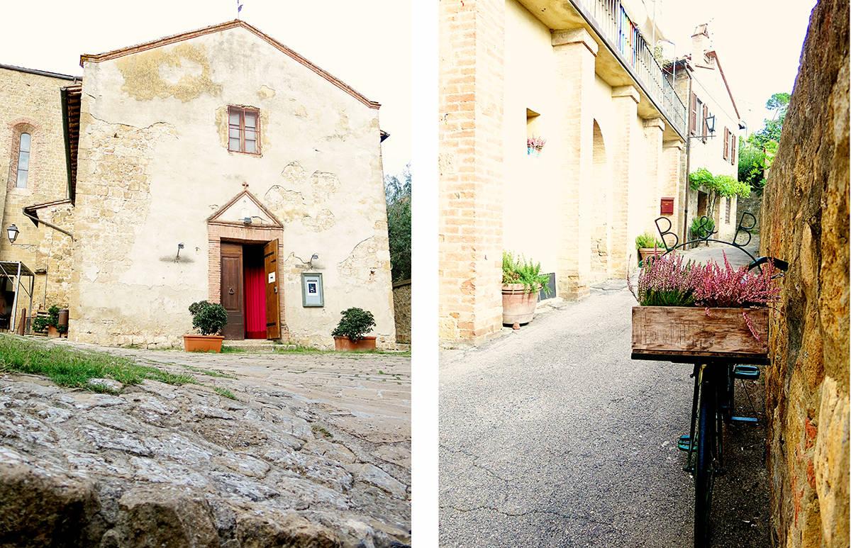 Montichiello Tuscany Village