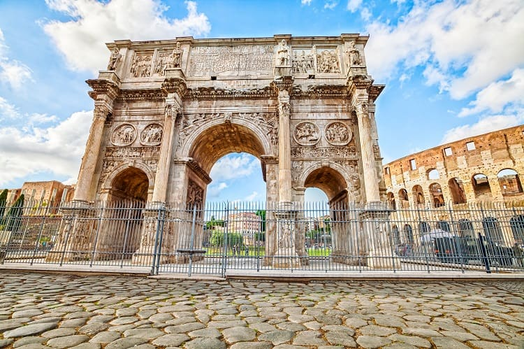 Rome in 2 Days - Arch of Constantine