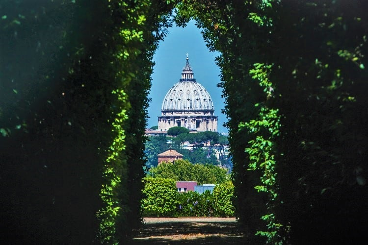 Rome in 2 Days - The Knights of Malta Keyhole and Aventine Hill