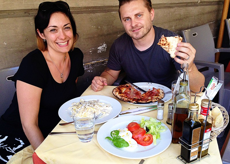 Things to See in Rome - Italian Cuisine