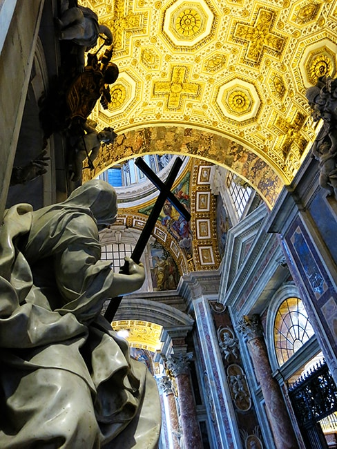 Things to See in Rome - Inside St Peter's Basilica