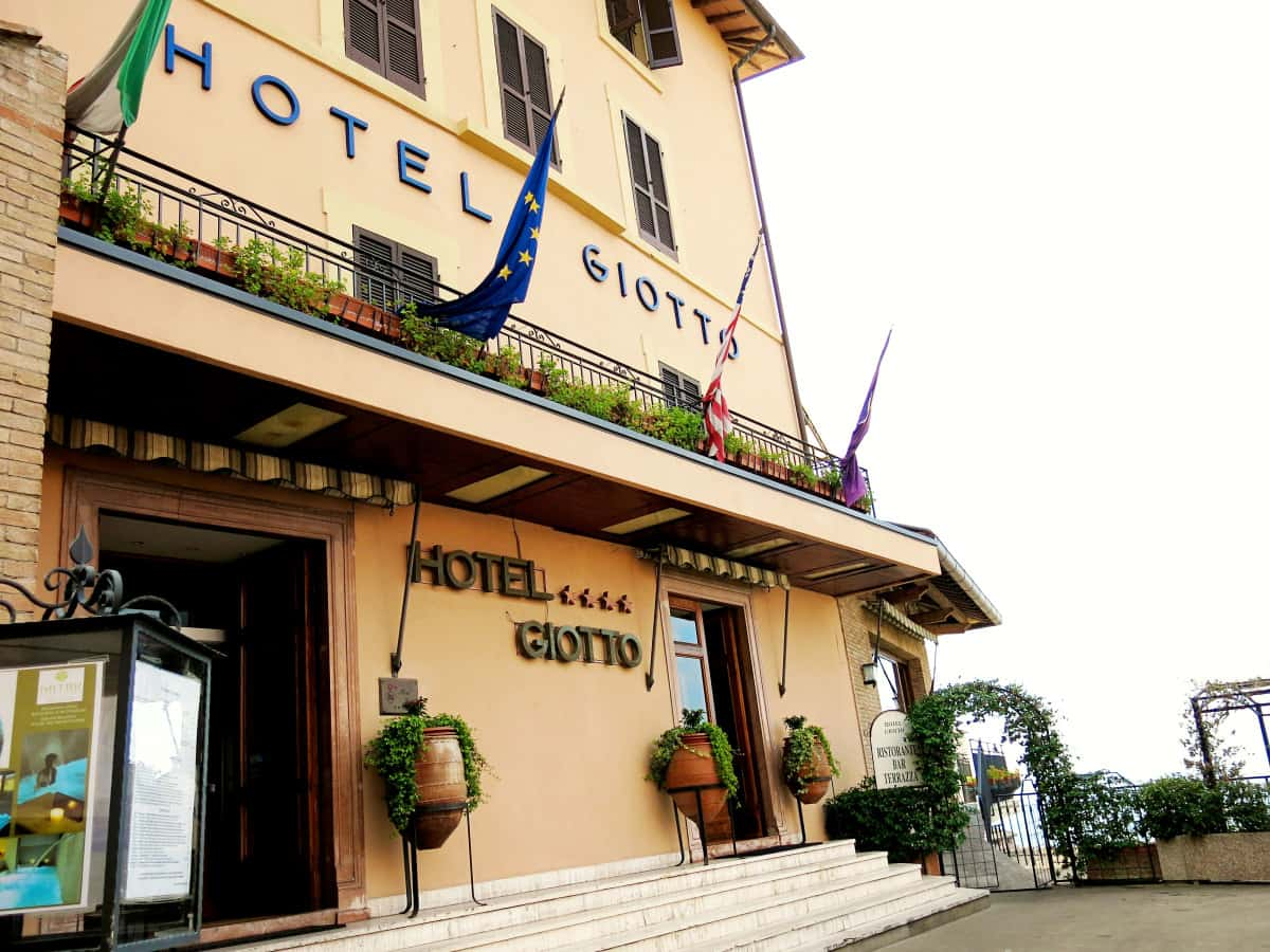 Places to stay in Italy Hotel Giotto Assisi Italy