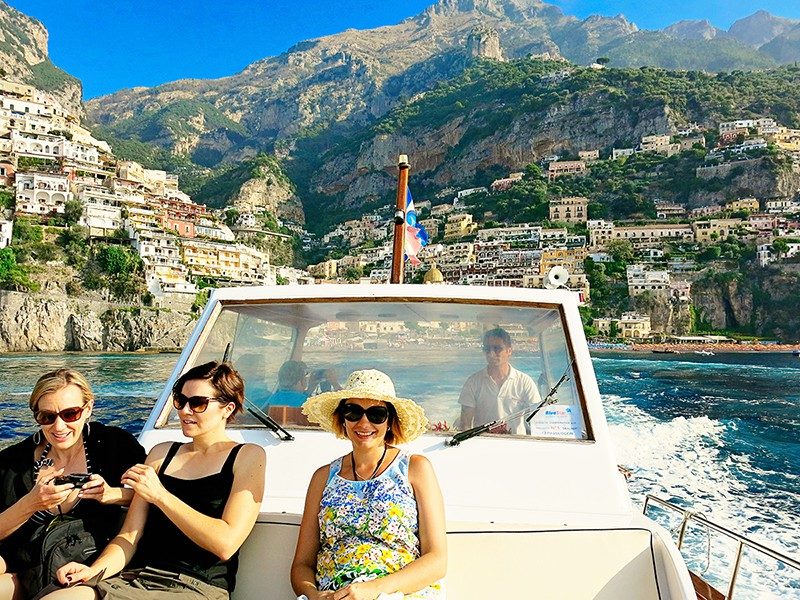 Amalfi with Kids