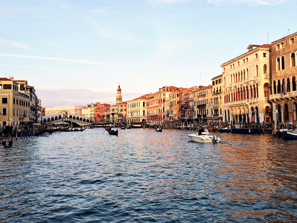 Attractions in Venice - the Grand canal