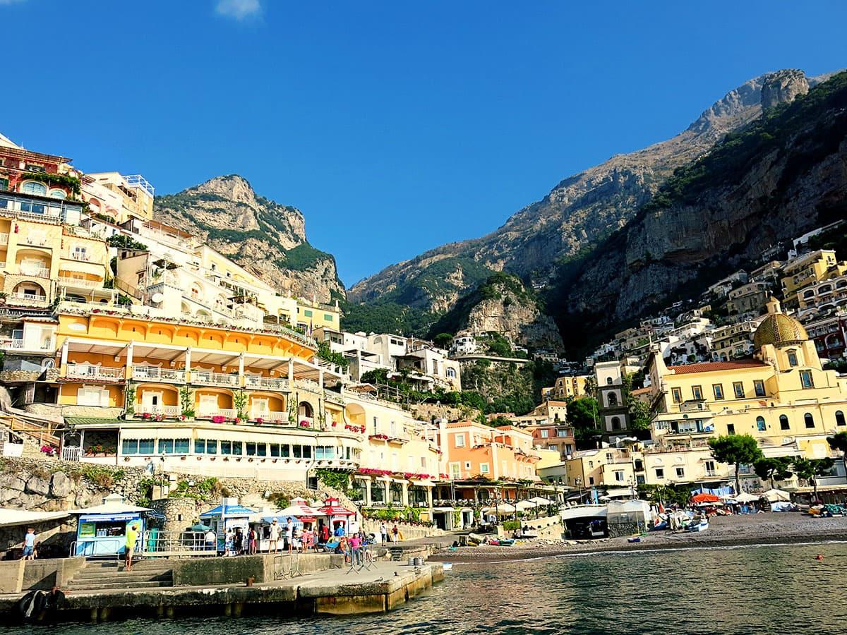 The most picturesque town on the amalfi coast positano italy for Amalfi to positano