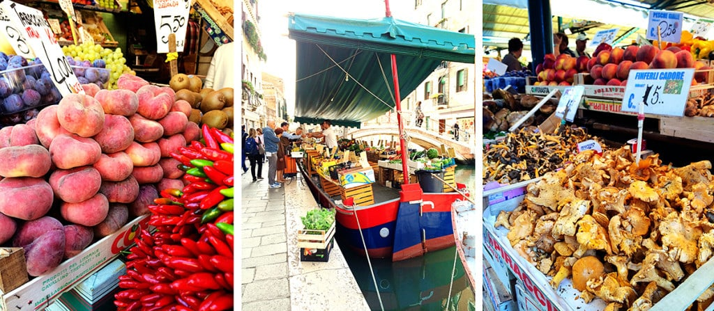 Attractions in Venice - Markets