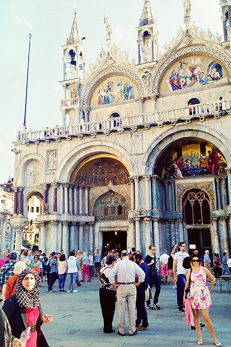 Attractions in Venice - San Marco Basilica
