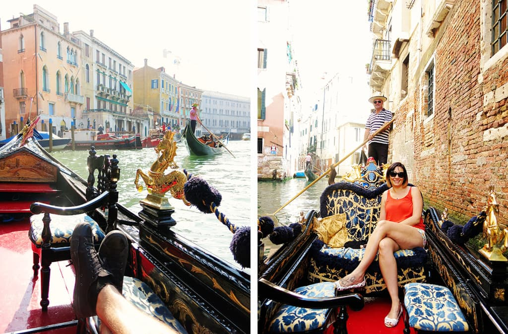 Attractions in Venice - Gondola Rides