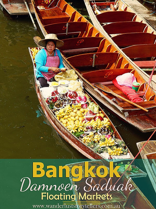 An amazing Bangkok Day Tour to visit Floating Markets & River Kwai