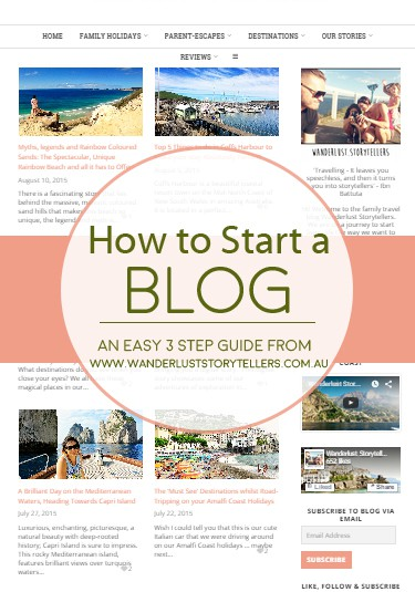 how to start a blog wanderlust storytellers