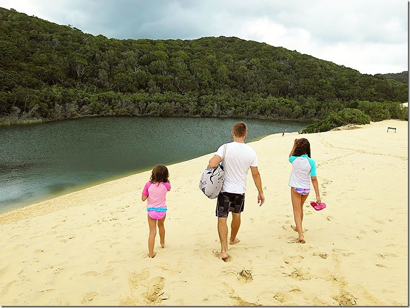 Fraser-Island-Queensland-Lake Wabby-1
