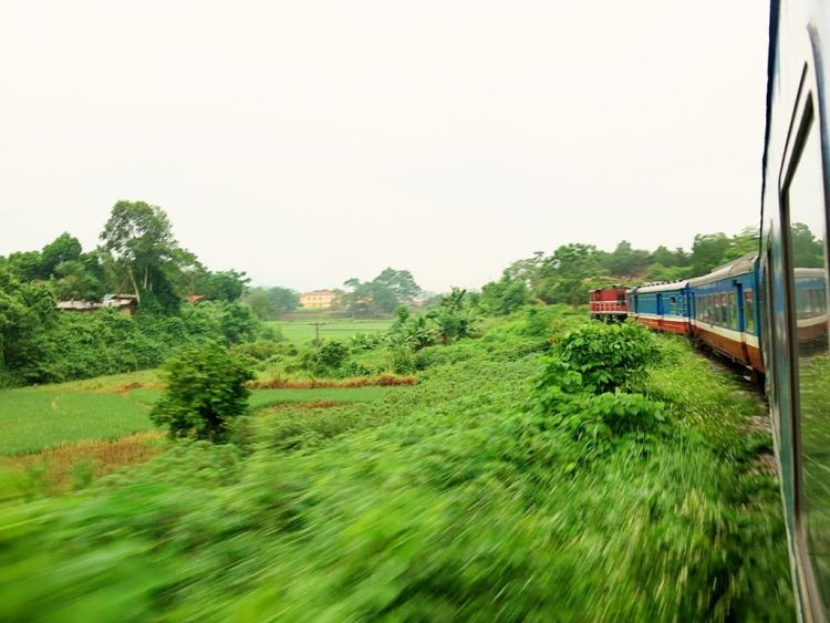 overnight train to sapa from Hanoi