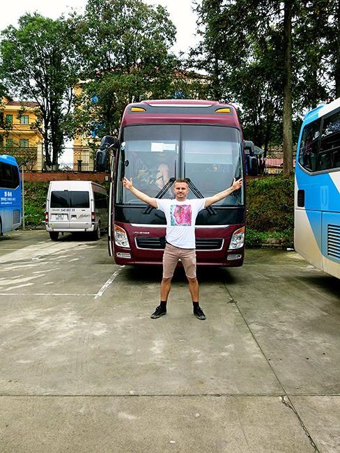 Getting from Hanoi to Sapa - Bus Hanoi to Sapa