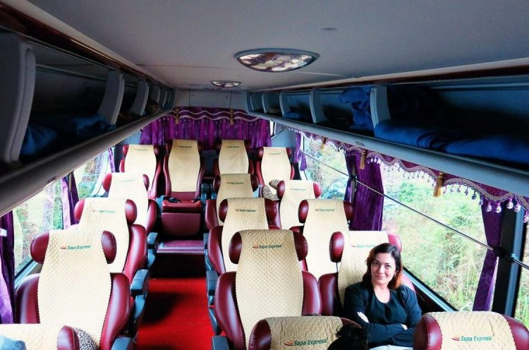Bus from Hanoi to Sapa