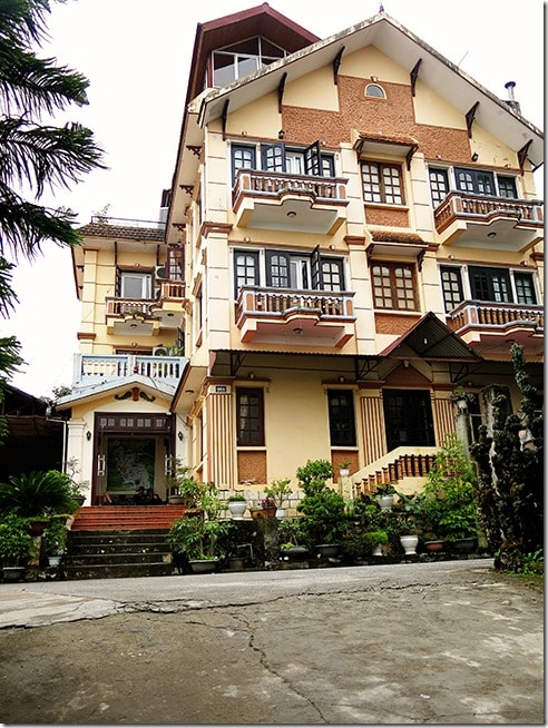 Vietnam-Accommodation-Sapa-Eden-Hotel-Front