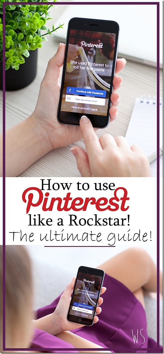 how to use pinterest large