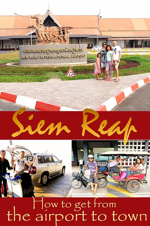 How to get from the Airport to Siem Reap