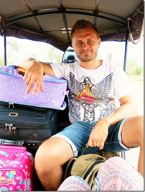 Airport-to-Siem-Reap-Tuk-Tuk-Luggage