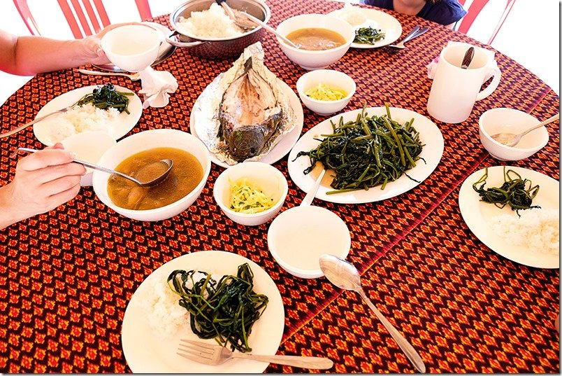 Cambodia Tours - Khmer Lunch Food