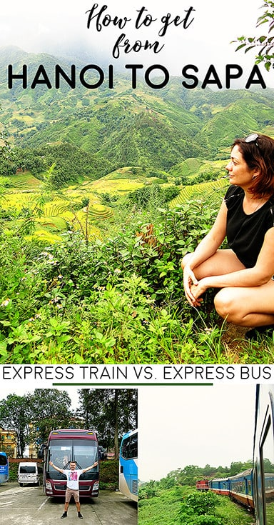 Hanoi to Sapa Bus vs Train