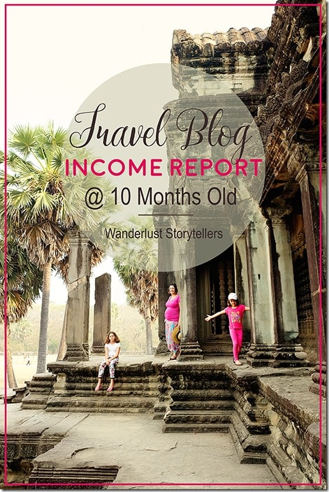 Travel Blog Income Report - March 16