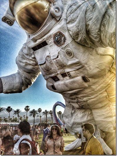 Coachella Moon Man