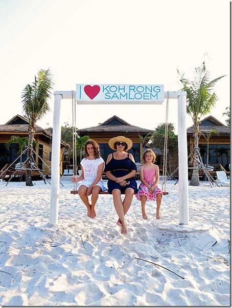 Family trip to Koh Rong Samloem Island