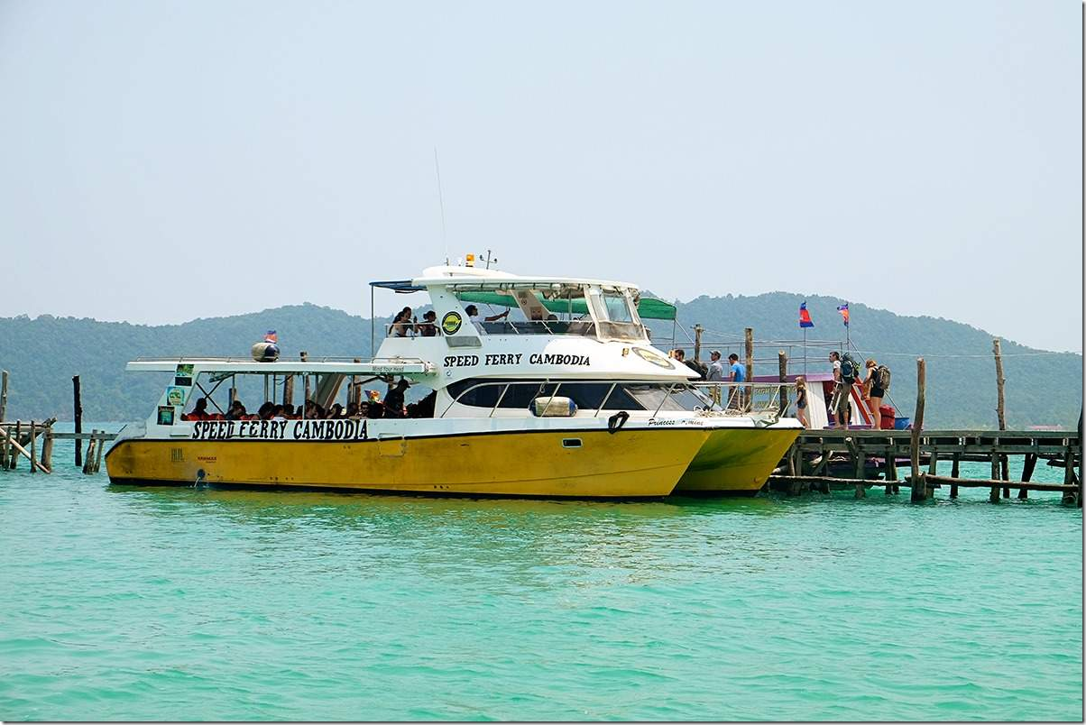 How to get to Koh Rong Samloem Island