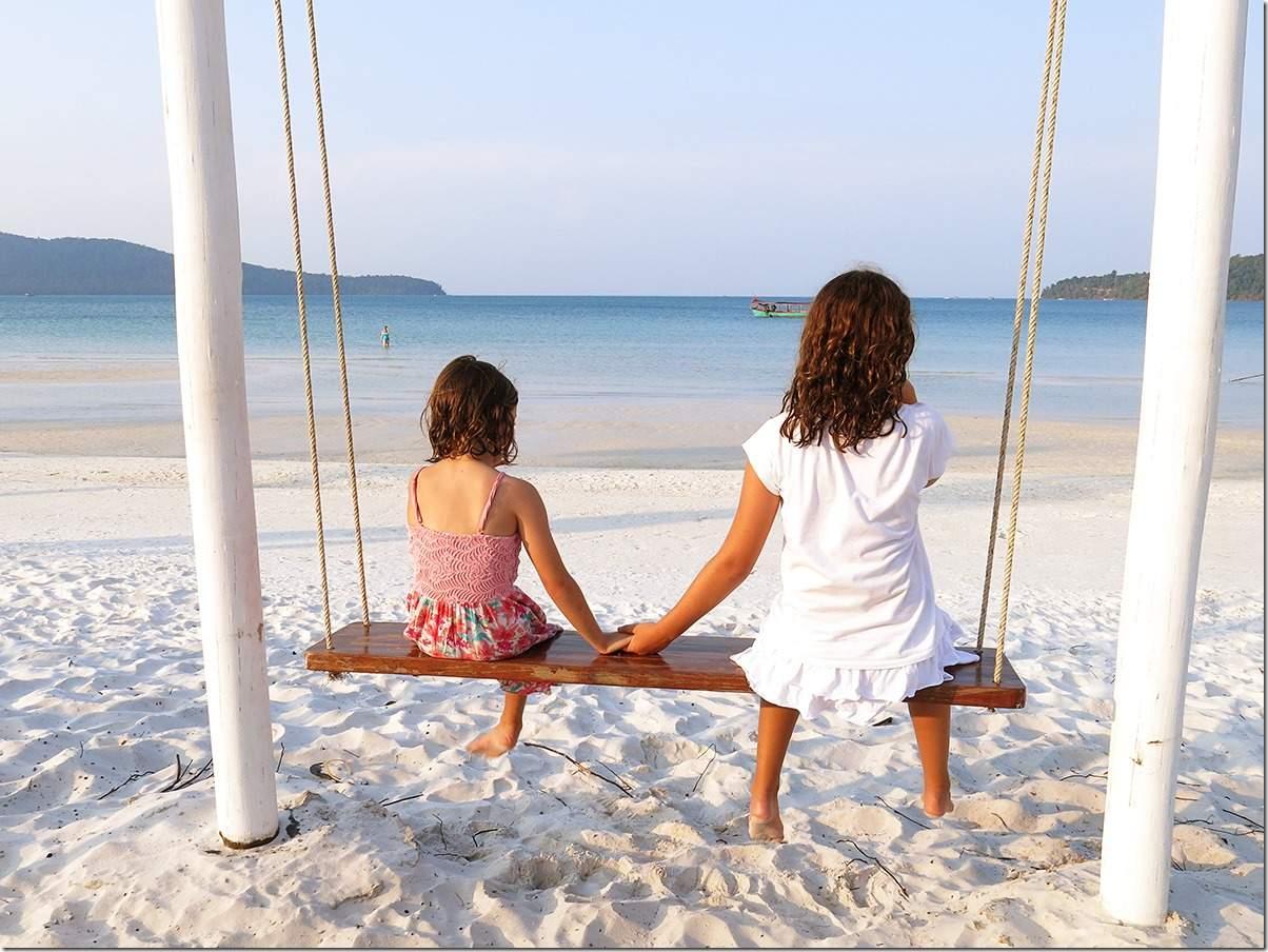 Koh Rong Samloem Island Beach