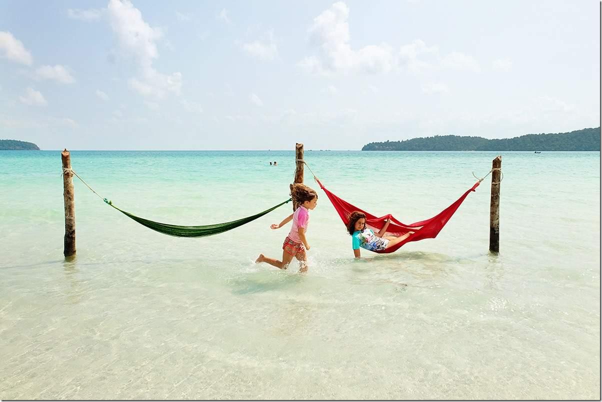 Koh Rong Samloem Island Hammock Fun