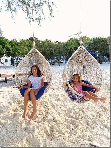 Koh Rong Samloem Island with Kids