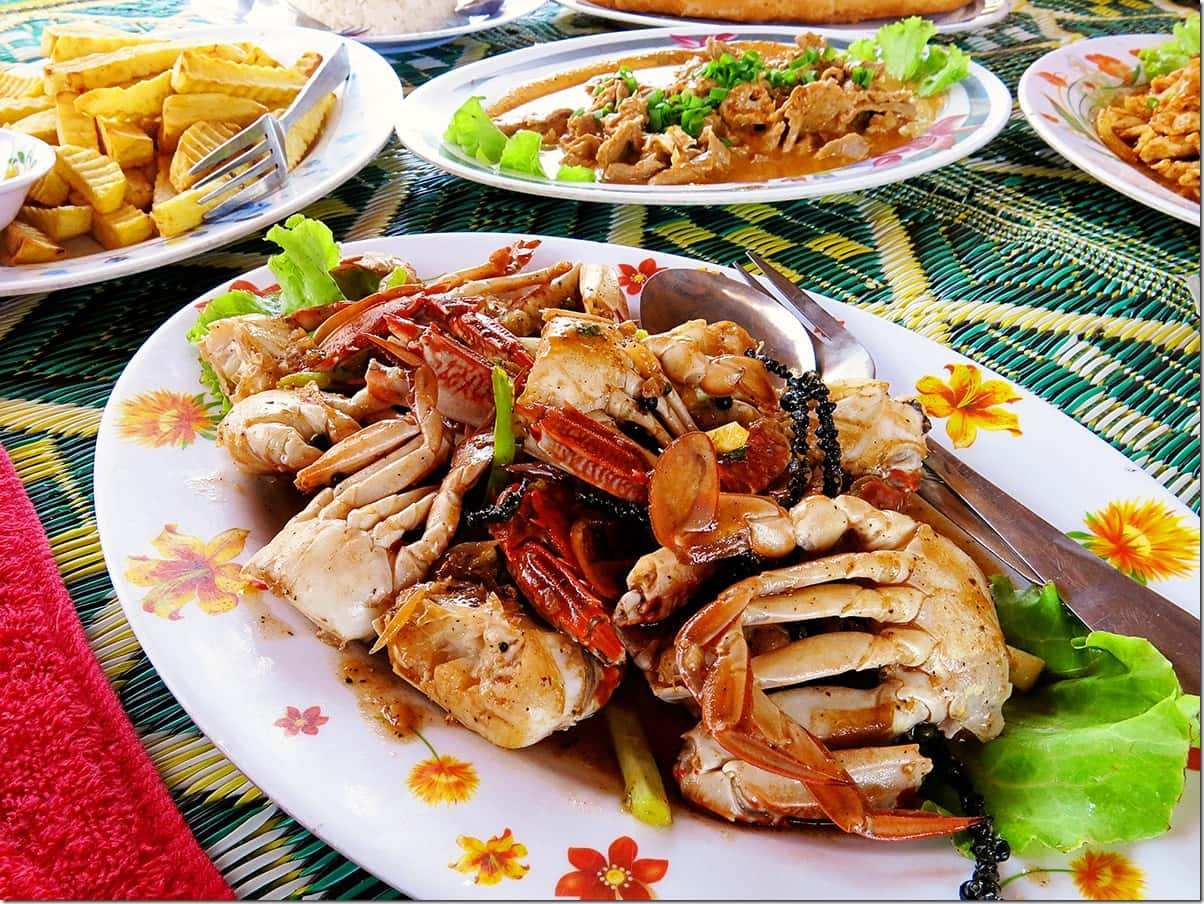 Koh Tonsay (Rabbit Island) Kampot Pepper Crab Dish