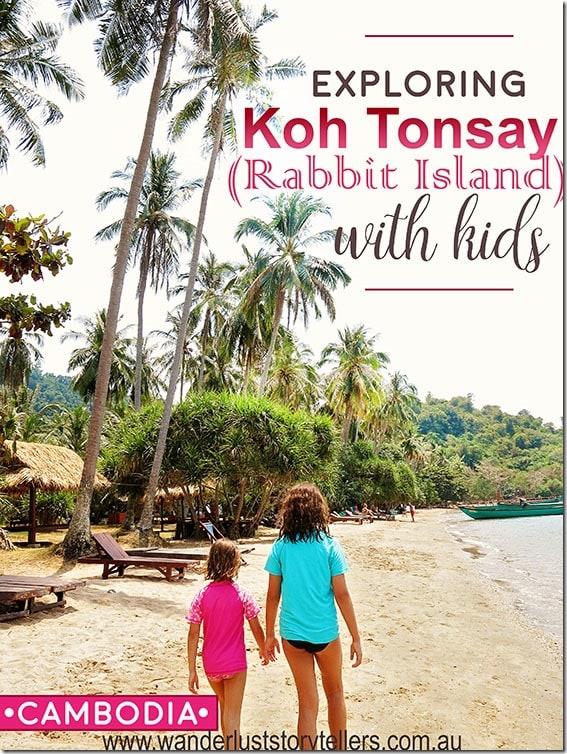 Koh Tonsay (Rabbit Island) with kids