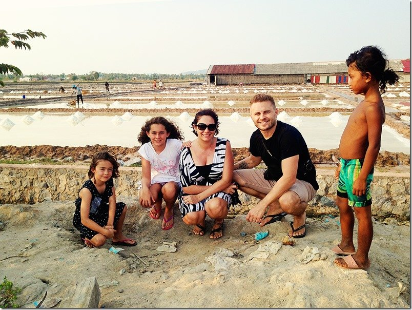 Cambodia Family Holiday - Kep Salt Fields