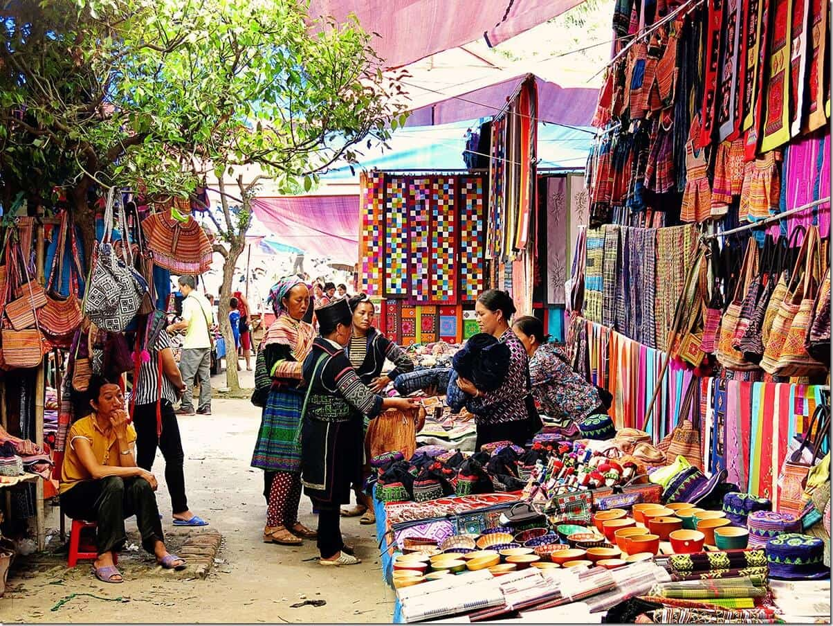 Bac Ha Markets in Vietnam
