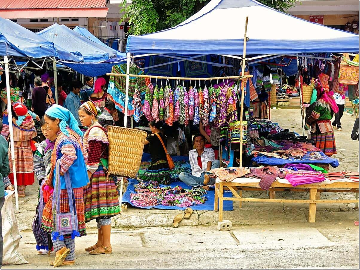 Bac Ha Sunday Market