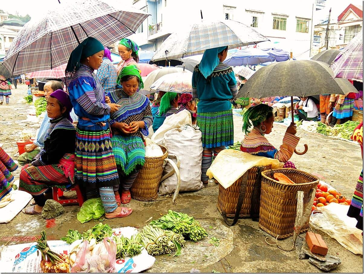 Bac Ha Vegetables