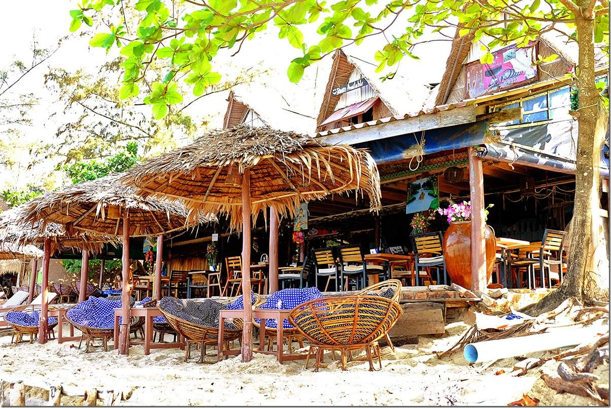Beach Restaurant at Otres Beach Cambodia