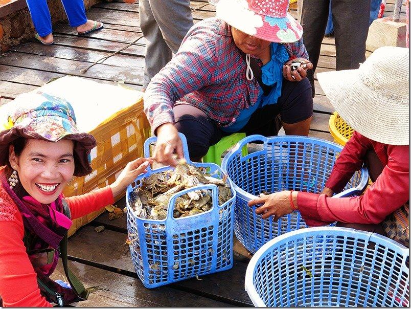 Crab Markets Kep