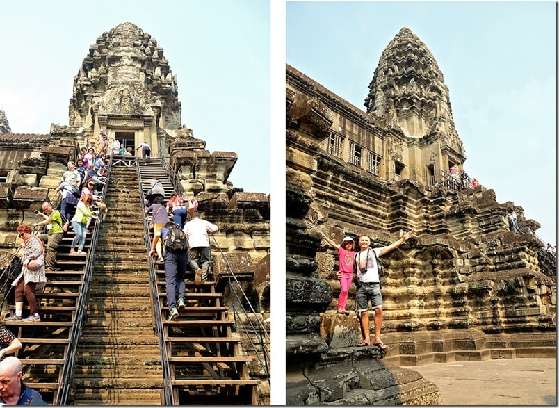 Family Trip to Angkor Wat Temple