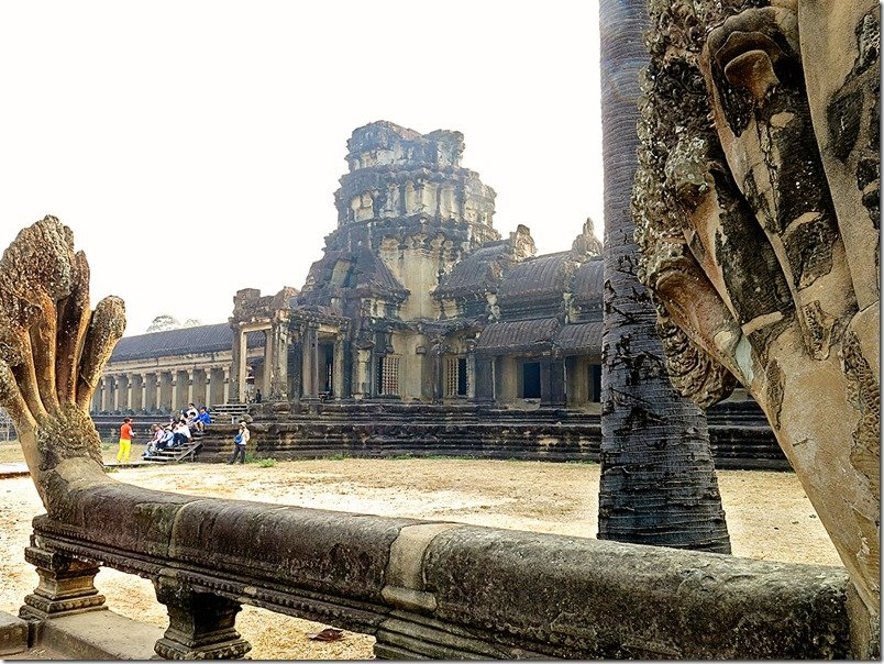 Front of Angkor Wat Temple
