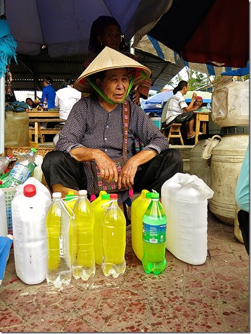 Homemade Corn Wine at the Bac Ha Markets