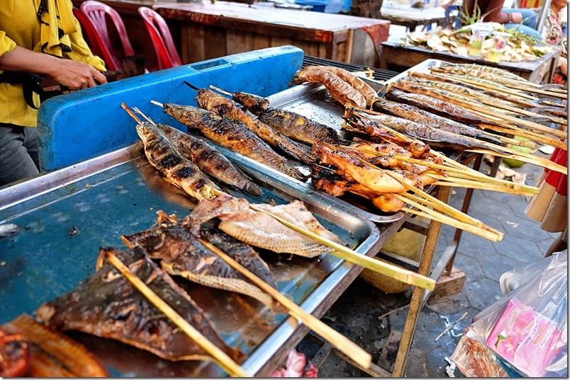 Seafood at the Kep Crab Markets