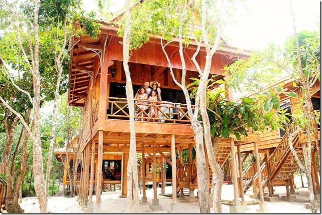 Sol Beach Resort Koh Rong Samloem Treehouse