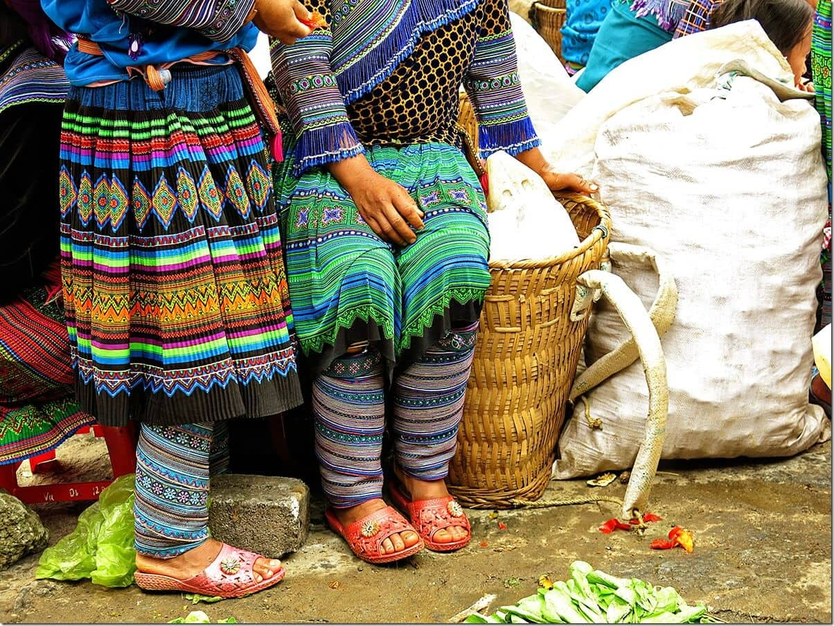Vietnam Markets - Colours of Bac Ha Markets