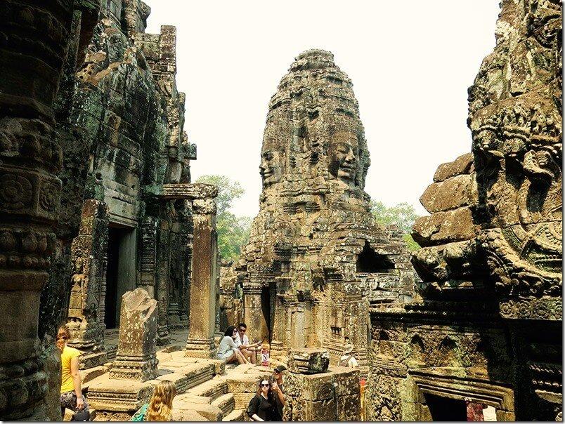 Angkor Thom temples - Bayon Temple