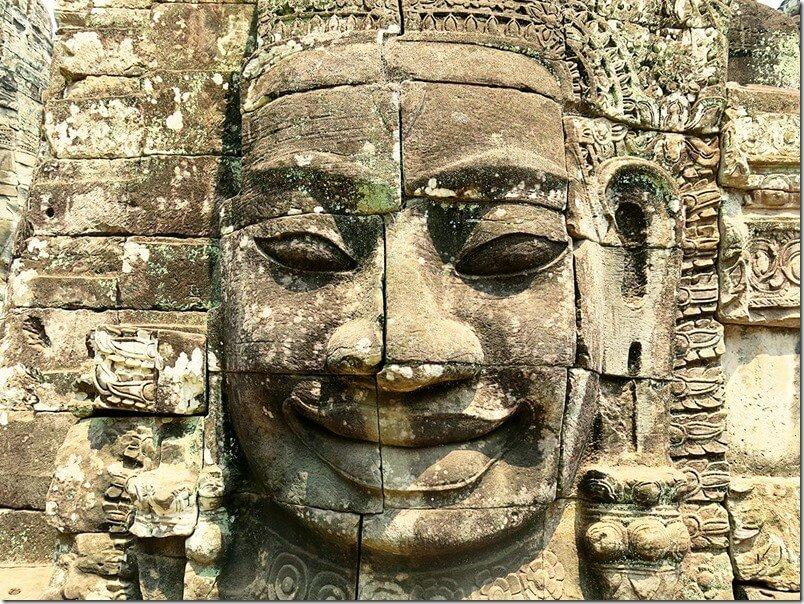 Bayon Faces - Angkor Thom, Cambodia