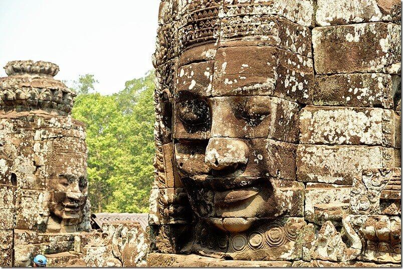 Bayon Statue in Cambodia